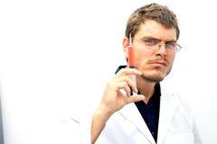 Scienziato pazzo Fotografia Stock