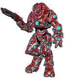 Scifi alien robot Stock Image