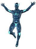 Scifi Fantasy Figure Royalty Free Stock Image