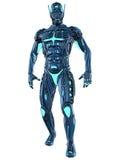 Scifi Fantasy Figure. 3d render os a scifi fantasy figure Stock Image
