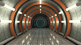 SCIFI futuriste de couloir Photo libre de droits