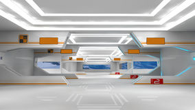 Scifi interior Stock Images