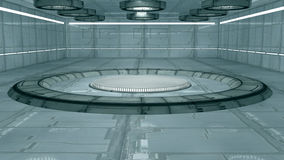 Scifi interior Stock Photography