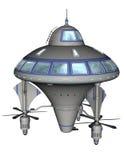 Scifi statek kosmiczny Fotografia Royalty Free