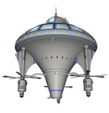 Scifi statek kosmiczny Zdjęcia Royalty Free