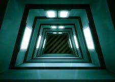 scifi tunel Zdjęcia Royalty Free