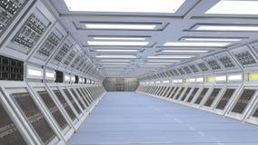 Scifikorridor Stockbilder