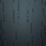 Scifiwand Metal Wand industrielles Thema Lizenzfreies Stockfoto