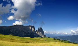 SCILIAR. A NICE VIEW OF ITALIAN ALPS Stock Images