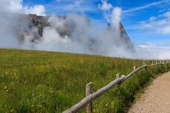 Sciliar die Wolken Lizenzfreie Stockfotografie
