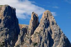 Sciliar from Seiser Alm Alpe di Siusi, Dolomites, Trentino-Alto Adige Royalty Free Stock Photo