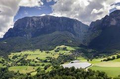 Sciliar (Tirol, Bolzano sul) fotografia de stock royalty free