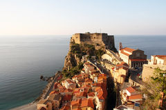 Scilla, Calabria, Italy Imagem de Stock