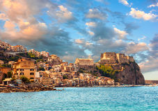Scilla castle Royalty Free Stock Photography