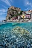 Scilla Itália - Calabria sul Foto de Stock