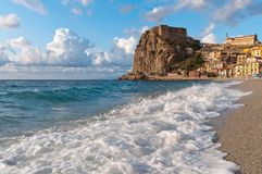Scilla Italy Calabria stock photography