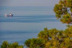 The beautiful seaside village of Scilla, Italy stock image