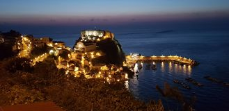 Scilla in the night stock images