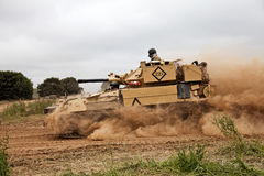 Scimitar tank Stock Photo