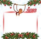 Scimmia 2016 Fotografie Stock Libere da Diritti