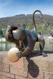 Scimmia che porta fortuna Fotografie Stock