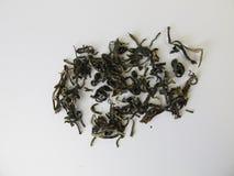 Scimmia cinese di bianco del tè Fotografia Stock