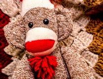 Scimmia del calzino Fotografia Stock Libera da Diritti