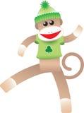 Scimmia del calzino della st Patrick Immagini Stock Libere da Diritti