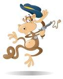 Scimmia del cowboy Immagini Stock Libere da Diritti