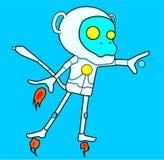 Scimmia del ferro del fumetto Immagine Stock