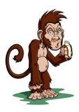 Scimmia del fumetto Immagini Stock