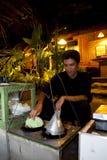 Scimmia di Kue un dessert tradizionale Indonesia Immagine Stock