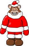 Scimmia di Natale Fotografia Stock Libera da Diritti
