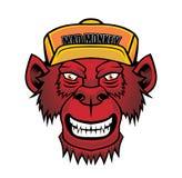 Scimmia fredda royalty illustrazione gratis
