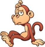 Scimmia pigra Immagine Stock Libera da Diritti