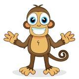Scimmia sveglia Immagine Stock