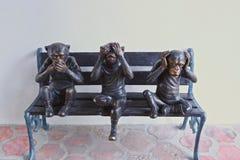 scimmie Immagine Stock Libera da Diritti