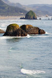A scinic view from Ecola state park stock photo