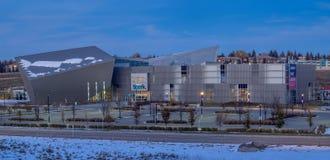 Scintilla di Telus a Calgary, Alberta fotografia stock