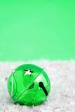 Scintilla verde del segnalatore acustico Fotografia Stock Libera da Diritti