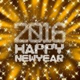 Scintillating nowy rok Zdjęcie Royalty Free