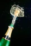 Scintille di champagne Fotografia Stock Libera da Diritti