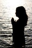 Scintille di preghiera. Immagine Stock Libera da Diritti