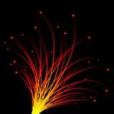 Scintille - fuochi d'artificio Fotografia Stock