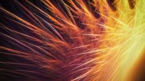 Scintille variopinte luminose Fotografia Stock