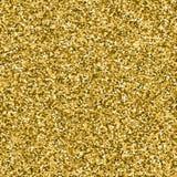 Scintillement d'or fait de coeurs Images stock
