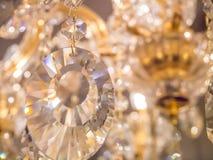 Scintillement, scintillement, lustre en cristal Photos libres de droits