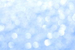 Scintillio blu Immagini Stock Libere da Diritti