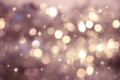 Scintillio, piccole stelle di scintillio Fotografia Stock Libera da Diritti