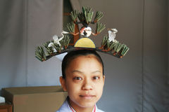 Scintoist priestess Stock Photography